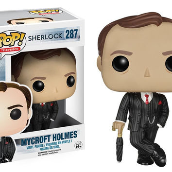 Sherlock TV Show Sherlock with Violin  Pop! Television Funko Vinyl Figure New in Box NIP 289
