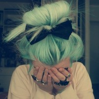 light blue hair |                 Tumblr