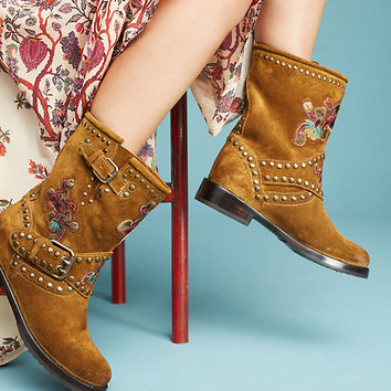 Frye Natalie Studded Engineer Boots