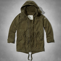 Tupper Lake Twill Fishtail Parka