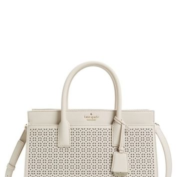 kate spade new york 'cameron street - candace' perforated satchel | Nordstrom