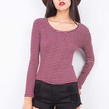 Molly+Stripes+Top