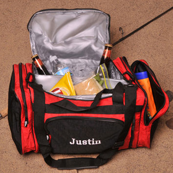 Personalized Insulated Duffle Bag