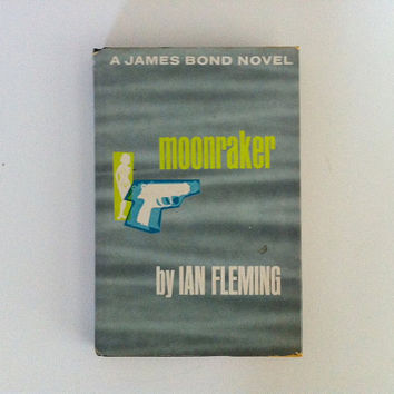 James Bond Moonraker by Ian Fleming 1955 by vintage19something