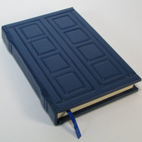 Leather Journal - Inspired by River Songs Tardis Journal