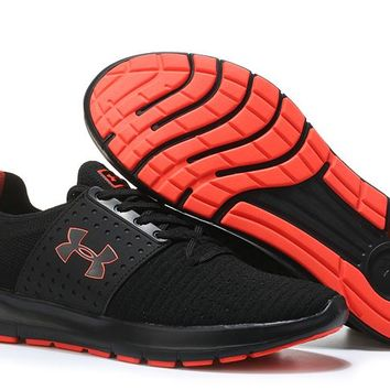 Under Armour UA SpeedForm Slingwrap Black/Orange Running Shoes 40-45