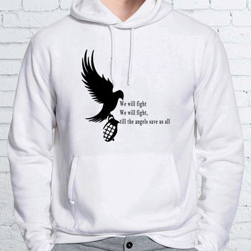 Hollywood Undead Lyric Art Unisex Hoodies - ZZ Hoodie