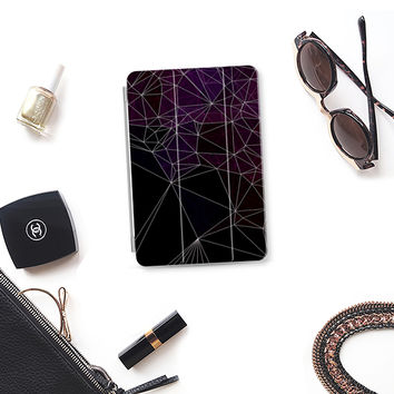 Purple polygons iPad Mini 1/2/3 cover by VanessaGF | Casetify