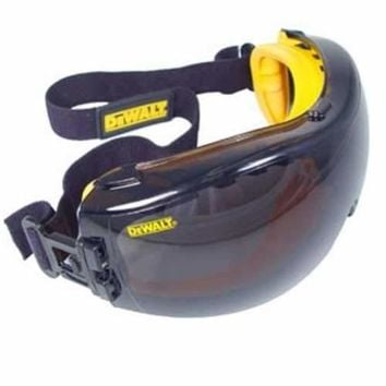 DeWalt Concealer Anti-Fog Dual Mold Safety Goggle - Smoke
