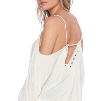 Free People Adelia Boho Top in Ivory