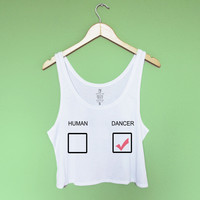 Dancer Crop Tank Top