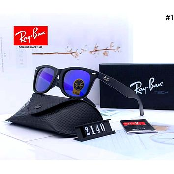 Ray-Ban 2019 new large frame color film polarized sunglasses #1