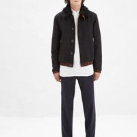 Totokaelo - Dries Van Noten Navy Peeler Pant - $585.00