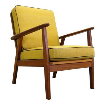 Pre-owned Mid-Century Danish Easy Chair in Teak