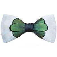 Original Feather Bow Tie in Roosevelt by Brackish Bow Ties