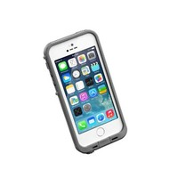 LifeProof FRE SERIES Waterproof Case for iPhone 5/5s/SE - Retail Packaging - GLACIER (WHITE/GUNMETAL GREY)