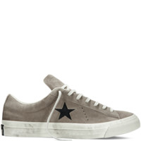 Converse - Converse By John Varvatos One Star Burnished Suede - Wood Brown - Low Top