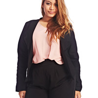 High-Low Blazer | Wet Seal+