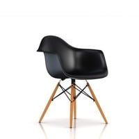 Eames Molded Plastic Armchair with Wood Dowel Base - Lounge & Living - Chairs -  Herman Miller Official Store
