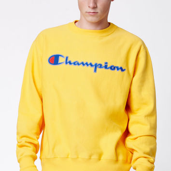 Champion Reverse Weave Crew Neck Sweatshirt at PacSun.com
