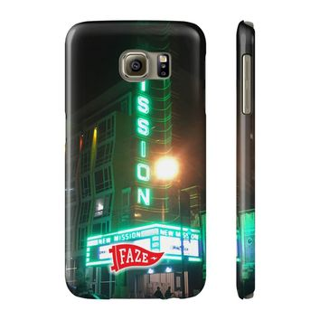 **Online Exclusive** New Mission Slim Samsung Galaxy S6 Phone Case