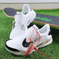 OFF WHITE x Nike The 10 : La Nike Sock Dart OW Sport Running Shoes-1