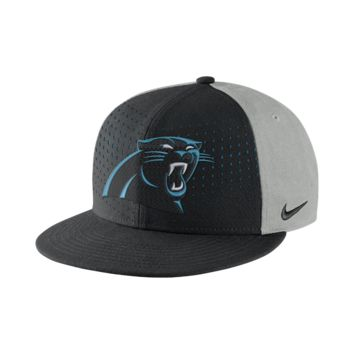 Nike Laser Pulse True (NFL Panthers) Adjustable Hat (Black)