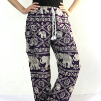 Thai fisherman pants palazzo pants boho pants harem pants/elephant pants/yoga pants/pyjamas/hippie clothes/bohemian pants/baggy pants