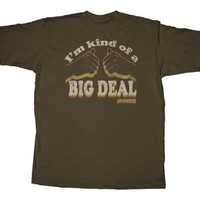Anchorman I'm Kind of a Big Deal Brown T-shirt