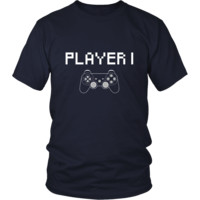 Valentine's Day T Shirt - Player 1
