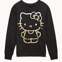 Metallic Hello Kitty Sweatshirt