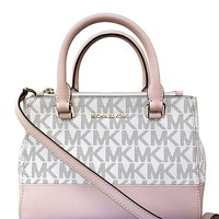 Michael Kors Kellen Extra Small Signature PVC Coated Twill Satchel