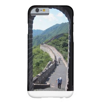 Great Wall of China Window View Barely There iPhone 6 Case