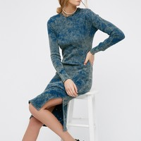 Free People Monaco Thermal Midi Dress