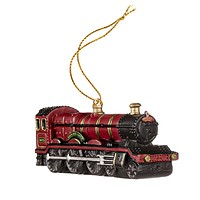 Universal Studios Harry Potter Hogwarts Express Train Resin Ornament New with Tags