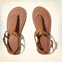 Strap Leather Sandals