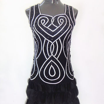 2016 Hottest 1920s Style Flapper Charleston Bead Art Deco Gatsby Sexy Summer Party Mini Dress