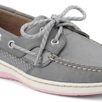 Sperry Top-Sider Bluefish Sport Mesh 2-Eye Boat Shoe Charcoal/PinkSportMesh, Size 12M  Women's Shoes