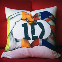 Exclusive 1D Throw Pillow Case.  Throw pillow for by SnappyD