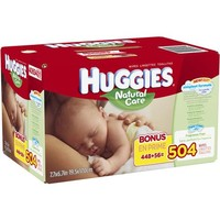 HUGGIES Natural Care Baby Wipes Refill, 504 sheets - Walmart.com