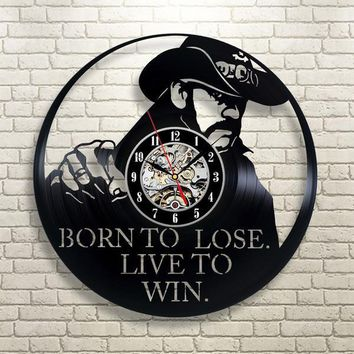 Motorhead Vinyl Record Wall Clock