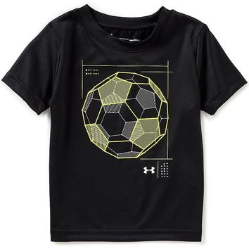 Under Armour Baby Boys 12-24 Months Wired Soccer Ball Short Sleeve Tee | Dillards