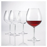 Polycarbonate Red Wine Glasses (Set of 4 ) - 22 oz