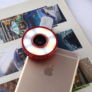 Vinsic 6 in 1 LED Smartphone Camera Lens Kit