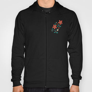 Deck the Halls (Black Background) Hoody by lalainelim