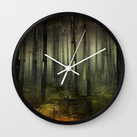 Why am I here Wall Clock by happymelvin
