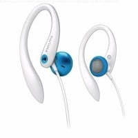 Philips Earhook Headphones- Blue