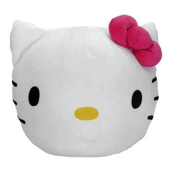 Hello Kitty Kitty Clouds  Travel Cloud Pillow (11X11)