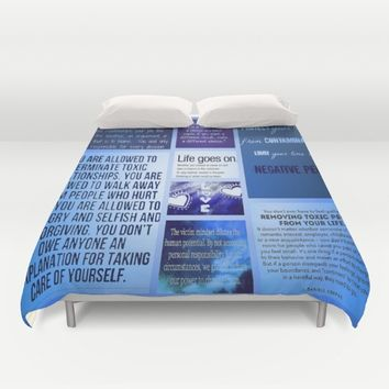 It's all you.  Duvet Cover by Jessica Ivy