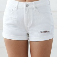 Billabong Sea Dunes Tie Front Soft Shorts at PacSun.com